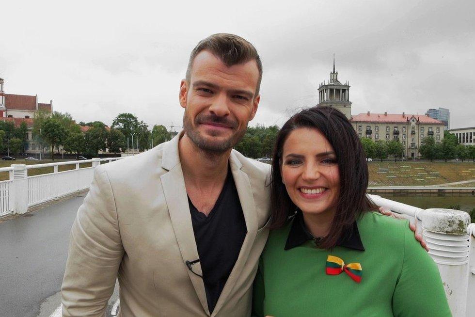 Mindaugas Rainys ir Renata Šakalytė-Jakovleva (nuotr. asm. archyvo)
