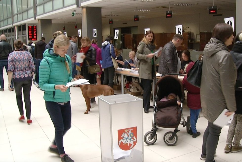 Išankstinis balsavimas (nuotr. TV3)