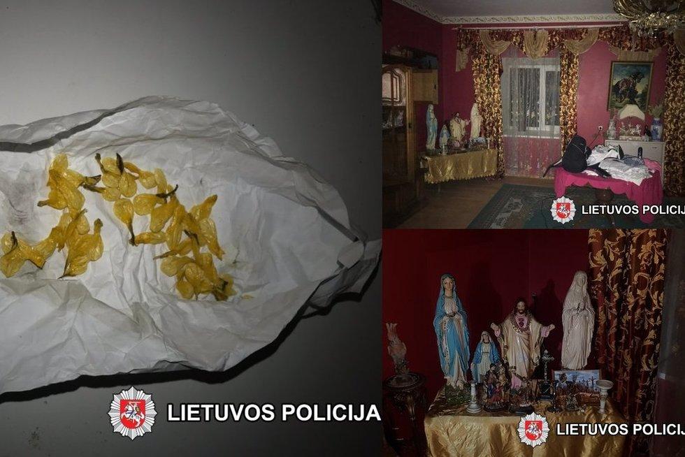 Vilniuje sulaikyti narkotikus platinę asmenys (tv3.lt koliažas)