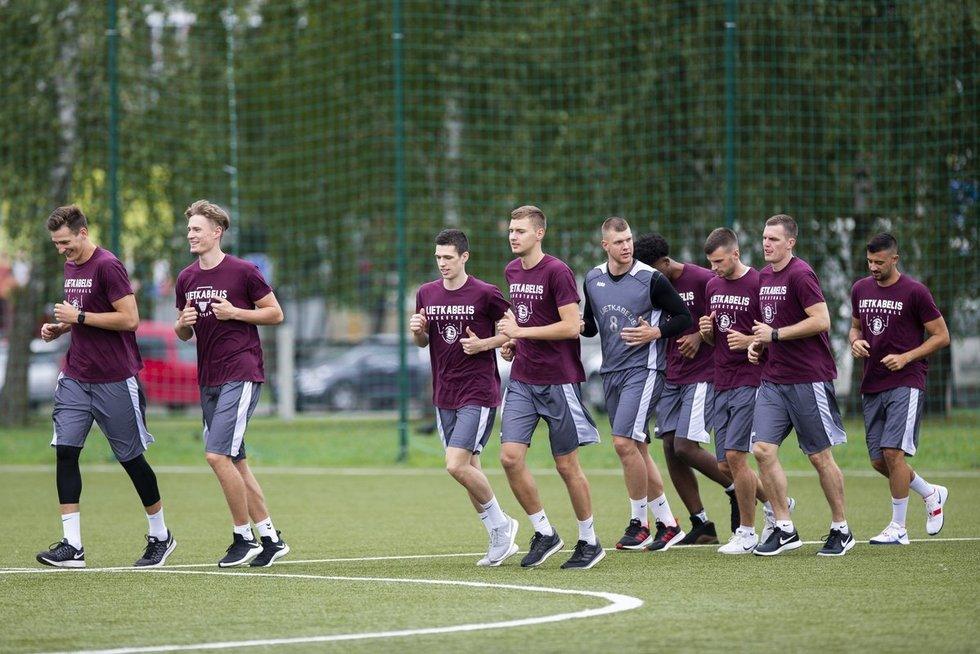 Panevėžio ekipa pradėjo pasiruošimą (nuotr.  KK Lietkabelis)