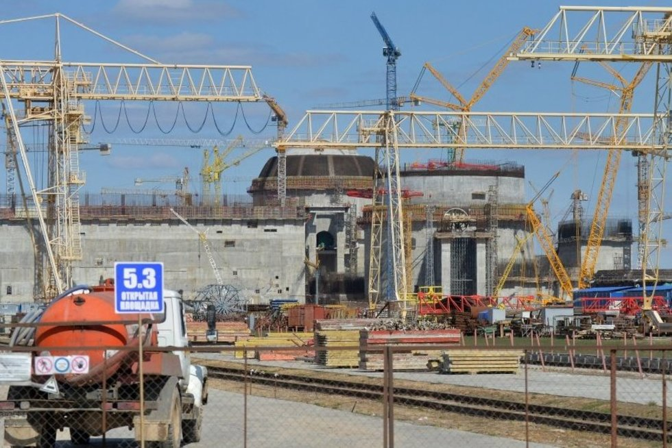 atominės elektrinės statybos (nuotr. SCANPIX)