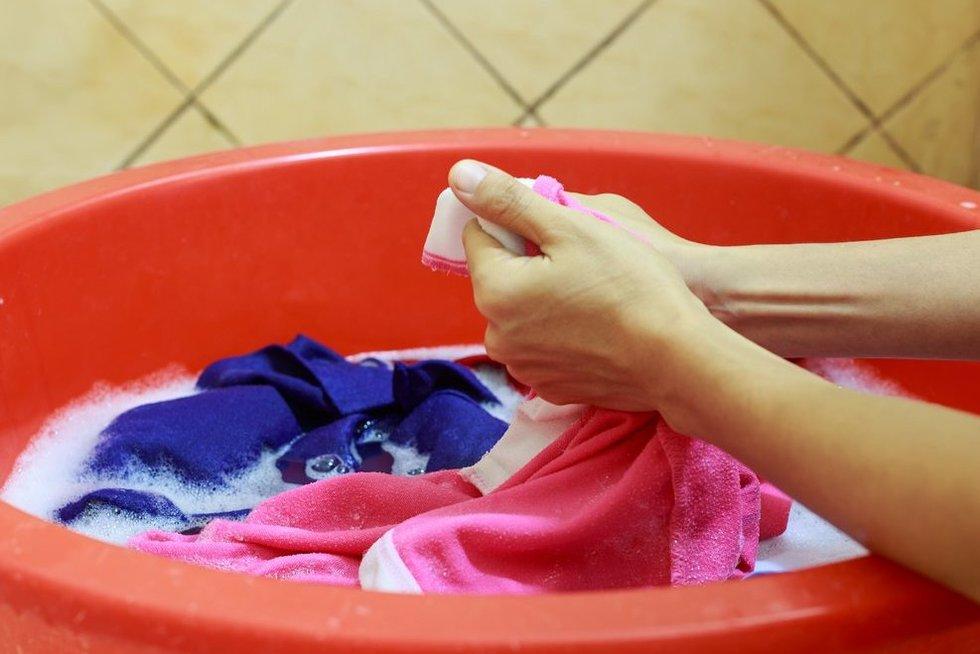 skalbimas (nuotr. 123rf.com)