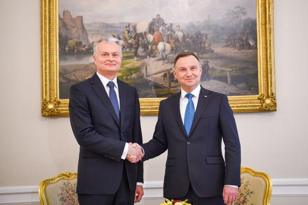 Gitanas Nausėda (nuotr. Lietuvos Respublikos Prezidento kanceliarijos/Robertas Dačkus)