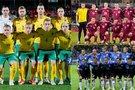 Lietuvos, Latvijos ir Estijos futbolo rinktinės (tv3.lt fotomontažas)