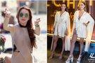 Lindsay Lohan ir jos restorano darbuotojos (tv3.lt fotomontažas)