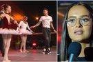 Karolina Meschino nustebino Naglį Bierencą: atliko sudėtingą gimnastinį triuką