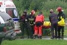 Nelaimė Lenkijos Tatruose (nuotr. stop kadras)