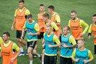 Futbolo rinktinė susirinko ruoštis dvikovai su Ukraina ir Portugalija (nuotr. LFF.lt)