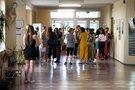 Abiturientai po valstybinio egzamino (nuotr. Fotodiena/Justino Auškelio)
