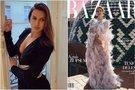 """Deimantė Andriuškaitė papuošė """"Harper's Bazaar"""" viršelį (tv3.lt fotomontažas)"""