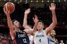 Argentina-Prancūzija akimirka (nuotr. SCANPIX)