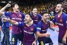"""Barcelona"" salės futbolininkai (nuotr. facebook.com)"