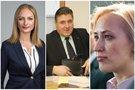 Rasa Petrauskienė, Liudas Jonaitis, Paulė Kuzmickienė  (tv3.lt koliažas)