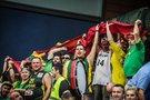 Lietuvos rinktinės sirgaliai (nuotr. FIBA)