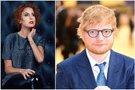 Julija Jegorova-Butavičienė ir Ed Sheeran (tv3.lt fotomontažas)