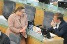 Agnė Širinskienė ir R. Karbauskis (nuotr. Fotodiena.lt)