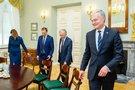 Prezidentūroje Gitanas Nausėda susitiko su Seimo valdyba (Irmantas Gelūnas/Fotobankas)