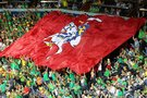 Lietuvos krepšinio sirgaliai (nuotr. tv3.lt)
