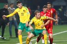 Lietuva – Rumunija rungtynių akimirka (nuotr. SCANPIX)