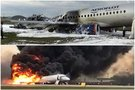 Košmaras Maskvoje: iš sudegusiu lėktuvu skridusių 78 žmonių išgyveno 37 (nuotr. SCANPIX) tv3.lt fotomontažas