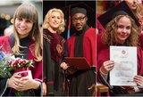 Sostinėje diplomus atsiėmę VDU absolventai traukė akį: vienijo bendras akcentas