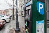 Pinga  ilgalaikis automobilių stovėjimas dviejose miesto zonose