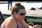Amerikietė irkluotoja leidosi į savo gyvenimo kelionę Ramiuoju vandenynu