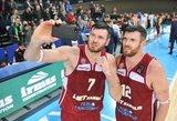 """Lavrinovičiai: """"Žalgiris"""" į Belgradą nuvažiavo kaip nugalėtojas, bet Šarui to neužtenka"""