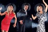 Išskirtinė nuotraukų galerija: TV3 televizijos žvaigždės išskrido į kosmosą