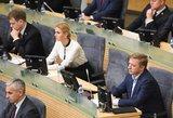Norinčiųjų Seime užimti Gretos Kildišienės vietą – daugiau nei dešimt