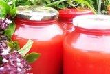 Pomidorų sulčių užteks visai žiemai: prireiks vos 2 ingredientų