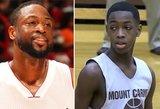 D.Wade'o sūnus laužo standartus: 16-metis auklėja NBA krepšininkus