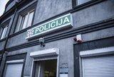 Neblaivus vyras sugadino policijos durų užraktą