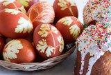 Dietologė pasakė, kada margintus kiaušinius valgyti pavojinga
