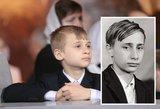 """""""Kaip iš akies luptas"""": internete pasklido Putino sūnaus nuotrauka"""
