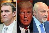 Rėžė Trumpu susižavėjusiems kandidatams: du žavisi, o panašus – trečias