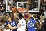 """Marsiečio"" Williamsono debiuto NBA metu – stiprus žemės drebėjimas"