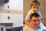 Motinos, tėvo ir 4-metės sesutės netekęs 11-metis sužinojo kraupią žinią