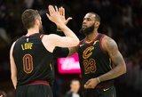 Trigubą dublį surinko ne tik Karalius, o ir 21-erių NBA naujokas