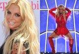 Britney nusimetė drabužius: tokio kūno pavydi ne viena