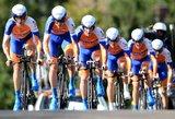 Pasaulio dviračių plento čempionato jaunių grupinėse lenktynėse M. Jankauskaitė liko penkta