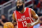 """Be traumuoto Donato Motiejūno """"Rockets"""" nepasipriešino NBA čempionams"""