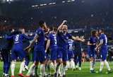 """210 minučių ir baudinių serija: """"Chelsea"""" pateko į Europos lygos finalą"""