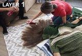 Vyras išbandė 100 plaukų lako sluoksnių: palaukite, kol pamatysite rezultatą
