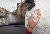 Orai sukėlė tikrą chaosą šalyje: kontrastai neįtikėtini