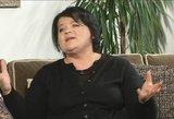 Prieš kameras pravirkusi D. Ibelhauptaitė prisipažino niekada nenorėjusi turėti vaikų