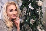 Natalija Bunkė per Kalėdas virto Snieguole: pamatykite kostiumą