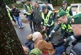 Premjero nuomone, diskusija dėl medžių kirtimo Kaune turėjo vykti be policijos