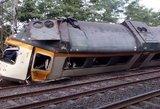 Traukinio katastrofa: žmones pražudė išsiblaškęs mašinistas