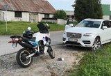 Penktadienio rytą Vilniaus pašonėje nukentėjo motociklininkas